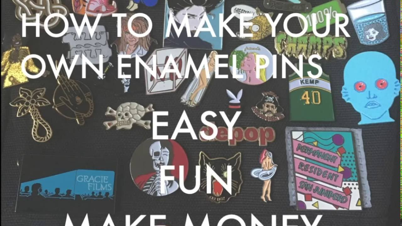 Charming How To Make Enamel Pins ...