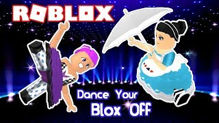 ROBLOX DANCE YOUR BLOX OFF DUO ROUTINE GONE WRONG - SHE LEFT ME AND STOLE MY SONG! | KID GAMING