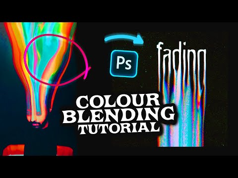 How To Create A DISTORTED RAINBOW GLITCH EFFECT ( Photoshop )