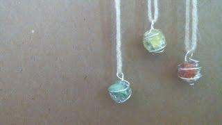 DIY Cracked Marble Jewelry
