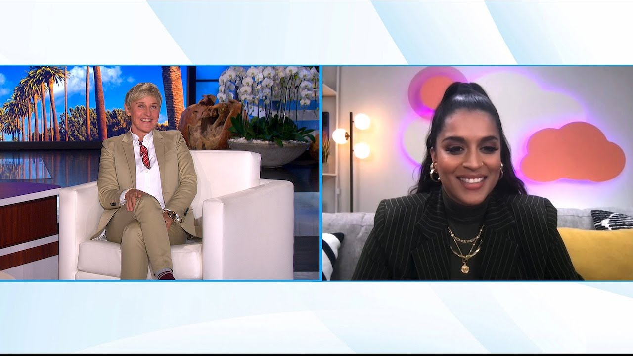 Lilly Singh Checks Off Ellen from Her Vision Board
