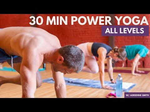 Power Flow Yoga - 30 Minute All Levels