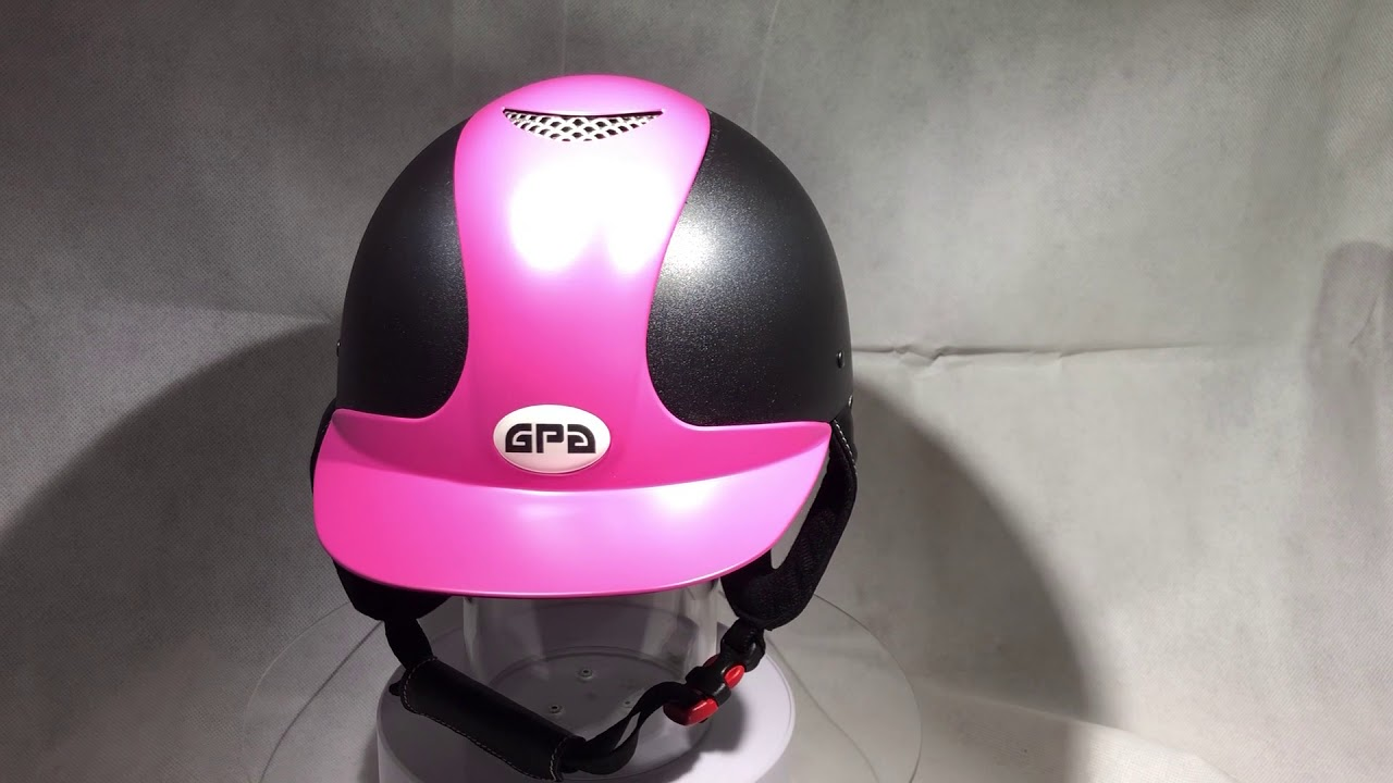 Casque Gpa Jimpi Rose Youtube