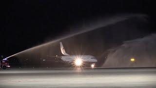 El aeropuerto de Ciudad Real recibe un avión nueve años después