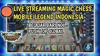 🔴 LIVE PUSH RANK MAGIC CHESS MOBILE LEGEND SAMPAI MYTHIC - MAGIC CHESS BANG BANG INDONESIA