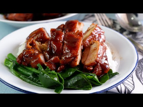 Super Easy Sticky Soy Sauce Chicken Recipe 五香酱油鸡 Chinese Chicken • Stove Top Cooking