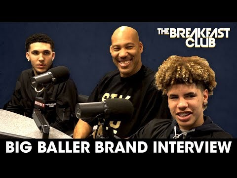 Lavar Ball & Sons On Family Business, Discipline, Donald Tru