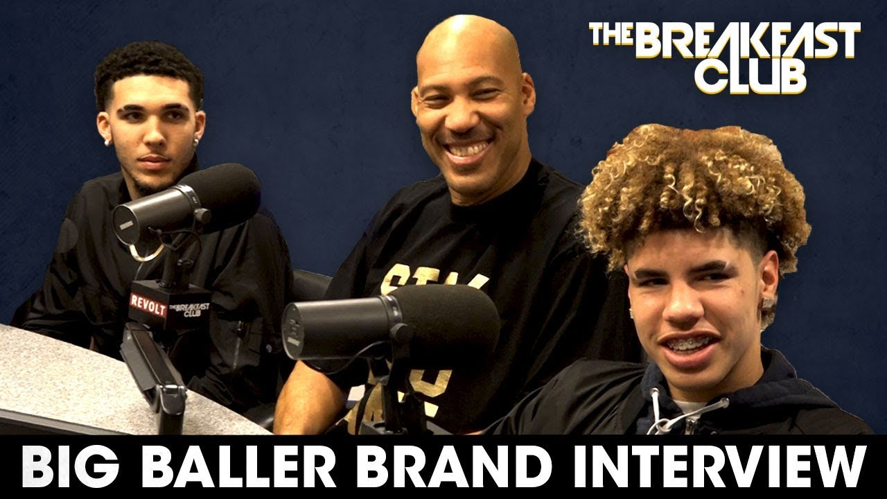 Lavar Ball & Sons Discuss Family Business, Discipline & Donald Trump On The Breakfast Club