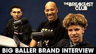 Lavar Ball  Sons On Family Business Discipline Donald Trump  More
