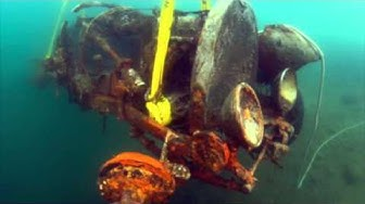 The Bugatti that lay at the bottom of a lake for 73 years