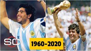 Diego Armando Maradona FALLECIÓ a los 60 años. Murió la leyenda argentina, el D10s. | SportsCenter