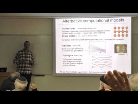 Prof. Nadav Katz - Quantum information science - the state of the art