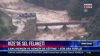 Haberturk TV YouTube Kanalına Abone Ol ➤ http://hbr.tk/QNhqSs Yurdun büyük çoğunluğu yağış altında, Rize'de selle mücadele ediyor. O selde bir kişi ...