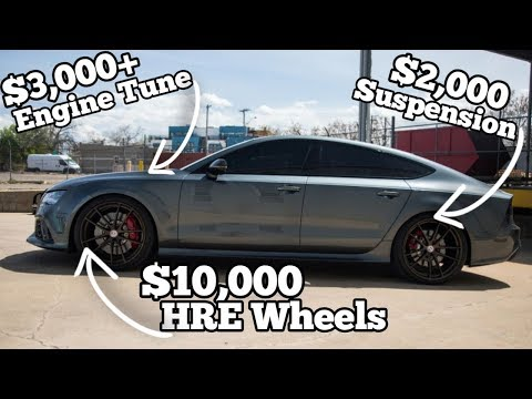 Cheap Salvage Auction Audi RS7 Came with 800HP & $15k in Hidden Mods