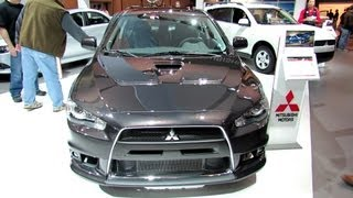 2012 Mitsubishi Lancer Evolution AWC Exterior and Interior at 2012 Toronto Auto Show - CIA