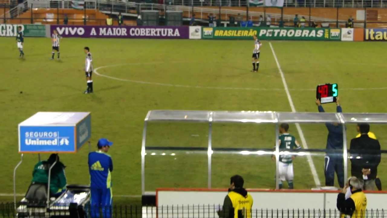 Último jogo do Pierre no Palmeiras - Pacaembu - PALMEIRAS ...