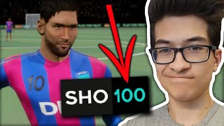 USING PLAYERS WITH 100 SHOOTING! | Dream League Soccer 2021 screenshot 4