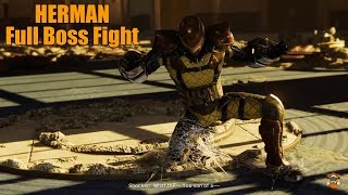 "Spider-Man PS4|HERMAN ""THE SHOCKER"" Full Boss Fight."