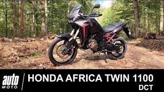 2020 Honda Africa Twin 1100 DCT ESSAI Auto-Moto.com