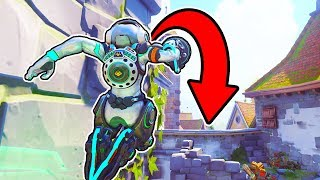 *OP 6 SECOND LUCIO ROLL OUT!* [Backwards!] - Overwatch Best Plays & Funny Moments #171