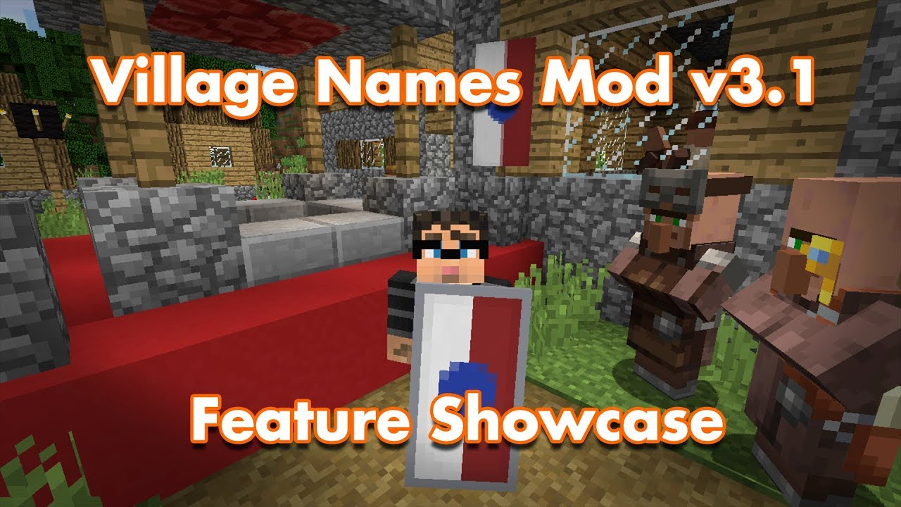Village Names - Mods - Minecraft - CurseForge