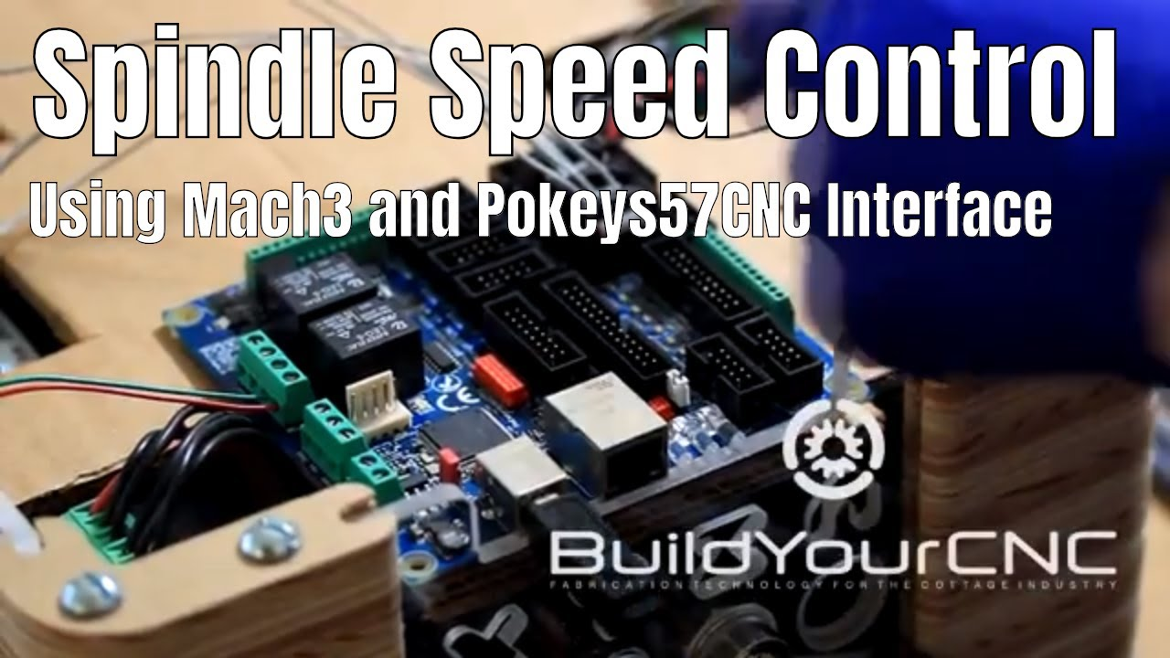 BuildYourCNC - USB and Ethernet CNC Control (Pokeys57CNC)