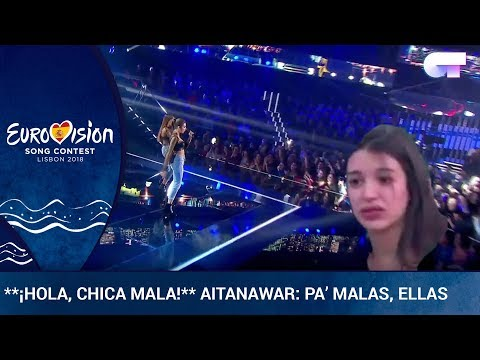 ** ¡HOLA, CHICA MALA!** Aitana y Ana Guerra, pa' malas, ellas | OTVisión