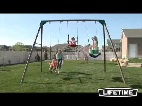 backyard swingset metal swing equipment set and playground ph playhouse sets playgrounds