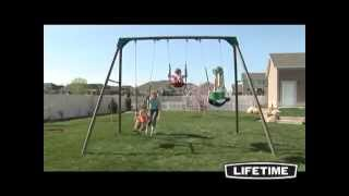 Lifetime Basic Swing Set