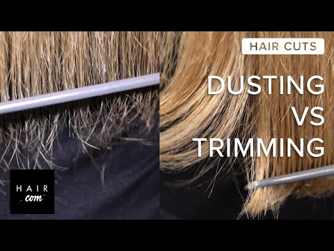 How To Get Rid Of Split Ends — Dusting Vs. Trimming | Hair.com