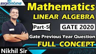 Gate 2020 | Mathematics Lectures-5 By Nikhil Sir | अब Paid Video free में
