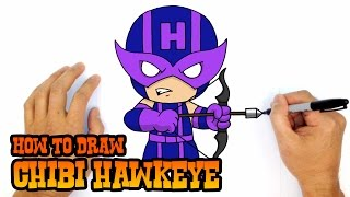 How to Draw Hawkeye | The Avengers