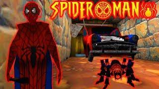 GRANNY SPIDER-MAN! NEW PET SPIDER! - Granny