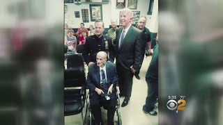 NYPD Employee Recieves Cop Of The Month Award