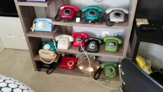 Rotary Phone Dialing Winter 2018
