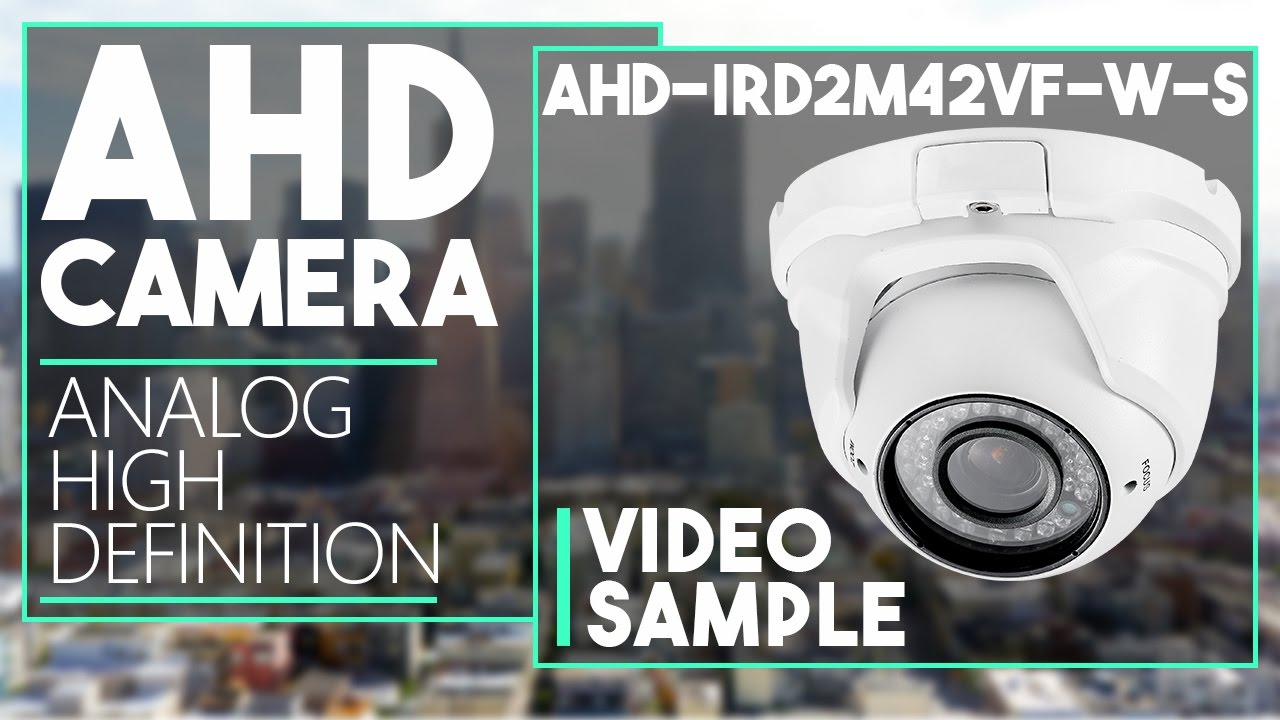 AHD-IRD2M42VF-W-S - 2.4MP AHD Eyeball Dome Camera Day & Night ...