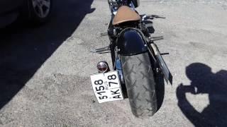 Honda Steed 400 Bobber(Боббер от RedStarBobbers., 2016-08-12T07:01:35.000Z)