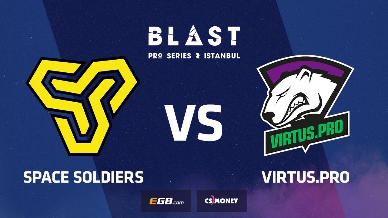 Space Soldiers vs Virtus.pro, dust2, BLAST Pro Series Istanbul 2018