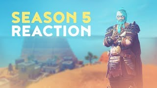 SEASON 5 REACTION (Fortnite Battle Royale)