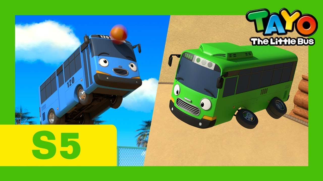Download Tayo English Episodes S5 l Tayo and Rogi are flying! l S5 compilation l Tayo the Little Bus