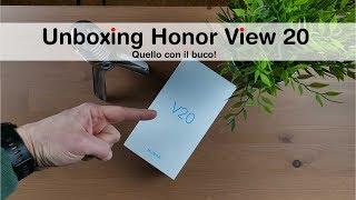 Unboxing Honor V20: PANICO e PROBLEMI!
