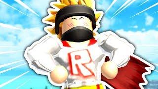 HOW I BECAME A SUPERHERO IN ROBLOX!! | ROBLOX SUPERHERO TRAINING SIMULATOR