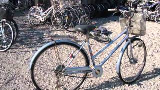 Japanese used bicycles, city bicycles mamachari curve 26 inch, Mountain bike, folding from Japan