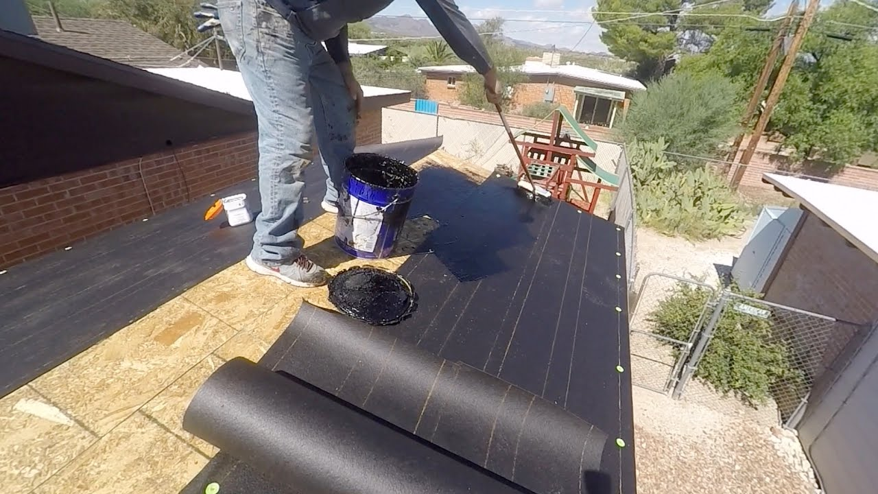 Roofing Paper And Proper Installation Youtube