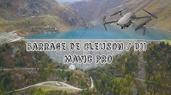Barrage de Cleuson en drone (4K)