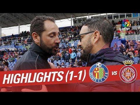 Resumen de Getafe CF vs Girona FC (1-1)