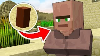 HOW TO TAKE A MINECRAFT VILLAGER