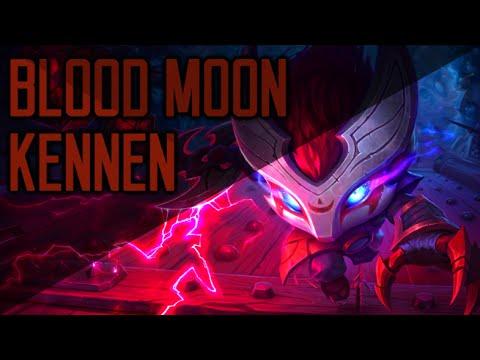 BLOOD MOON KENNEN Skin Spotlight - League of Legends
