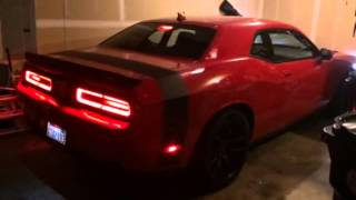 Dodge Challenger Hellcat start up