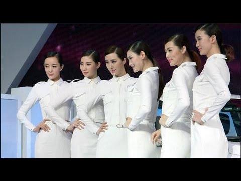 Auto Shanghai 2015: Where Did Sexy Models Go?